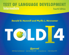 TOLD: I-4: Test of Language Development: Intermediate - Fourth Edition