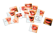 Mouth Picture Magnets