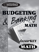 Book 4: Budgeting and Banking Answer Key