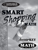 Book 5: Smart Shopping Answer Key