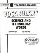 Science and Technology Words