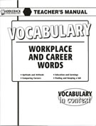 Workplace and Career Words