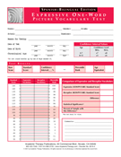 EOWPVT 2000 Edition - English Record Forms
