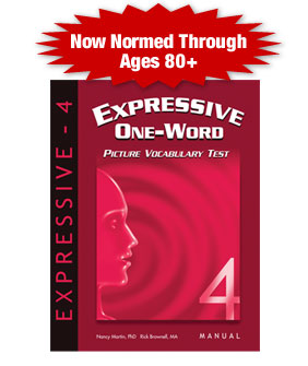 Expressive One-word Picture Vocabulary Test - 4th Edition (EOWPVT-4)