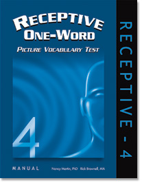 Receptive One-Word Picture Vocabulary Test (ROWPVT-4) - 4th Edition