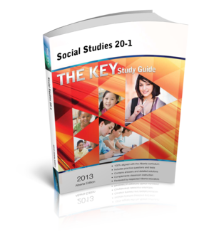 The Key Study Guide AB Edition - Social Studies 20-1